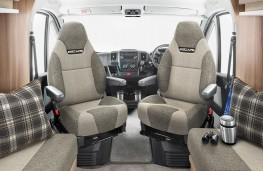 Swift Fiat Ducato motorhome, captain's chairs